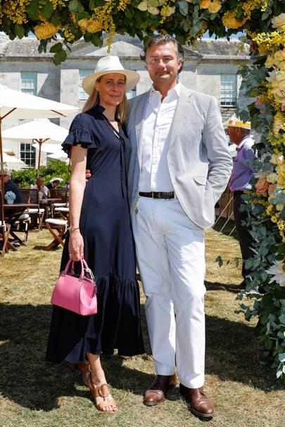 Carine and Laurent Feniou