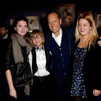 Daisy Bevan, Joan Washington, Richard E Grant and Olivia Grant