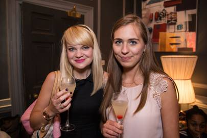 Justyna Sowa and Charlotte Duckworth