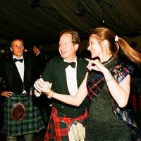 Claire Mercer-Nairne and Sir James Lindsay