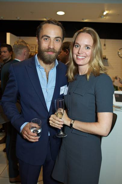 James Middleton and Annabel Kilner