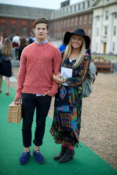 Wij Travers and Lily Travers