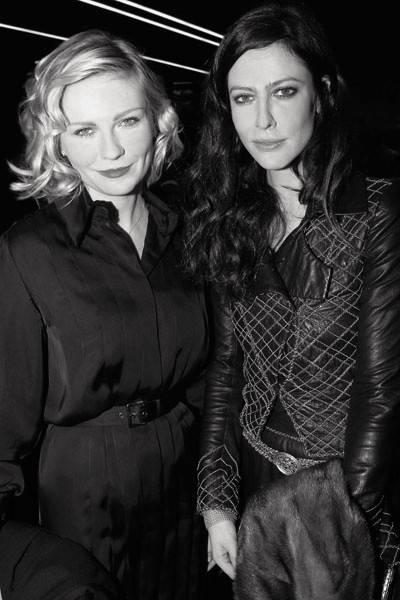 Kirsten Dunst and Anna Mouglalis