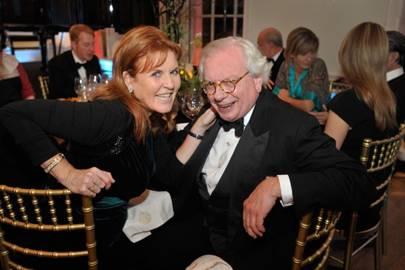Sarah, Duchess of York and David Starkey
