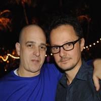Steve Lazarides and Jonathan Yeo
