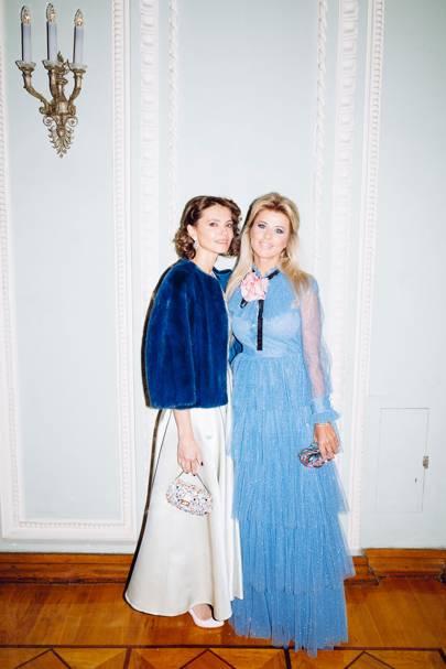 Anna Brostrem and Oxana Maksimova