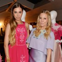 Amber Le Bon and Alice Naylor-Leyland