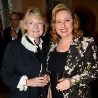 Rosamund Bernays and Agapi Stassinopoulos