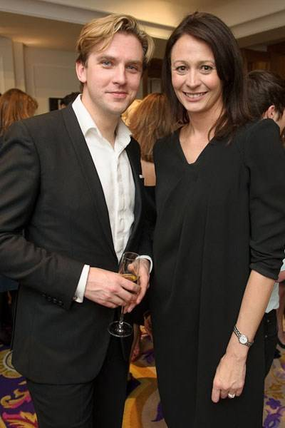 Dan Stevens and Caroline Rush