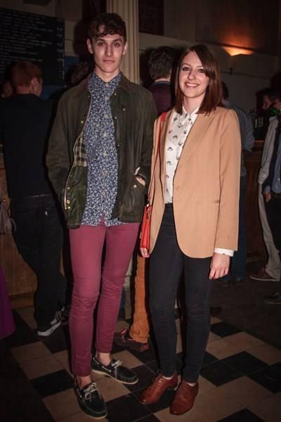 Matthew Robinson and Francesca Betkowski