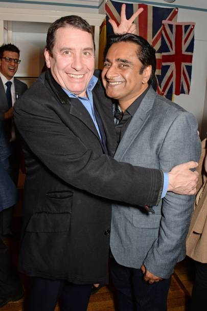 Jools Holland and Sanjeev Bhaskar
