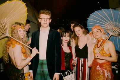 Olivia Sofie Ekelund, James Moir, Lucy Platts, Sophia Hopton and Kit Rolls