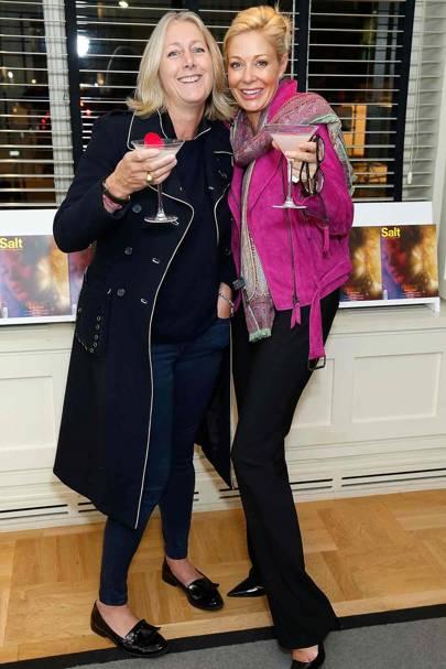 Susie Forbes and Nadja Swarovski