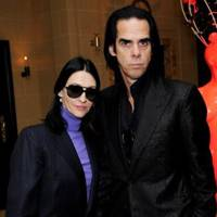 Susie Cave and Nick Cave