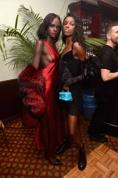 Leomie Anderson and Duckie Thot