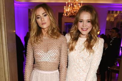 Suki Waterhouse and Poppy Jamie