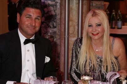 Giorgio Veroni and Lady Monika Gomez Del Campo Bacardi