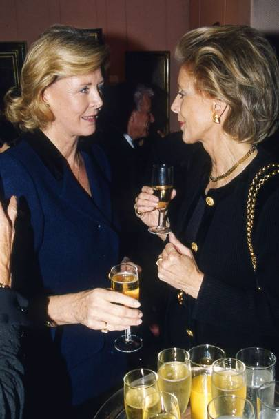 Countess Gunilla Douglas and Countess Madeline Douglas