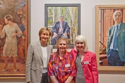 Sue Lawley, Melissa Scott Miller and Robin-Lee Hall