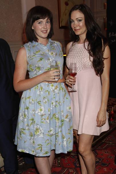 Alexandra Roach and Anna Skellen