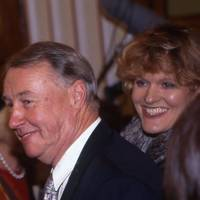 Sir Terence Conran and Victoria Davies
