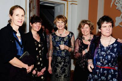 Diana Carney, Tara Rayment, Lady Mayoress, Pammie Rayment and Katie Rayment