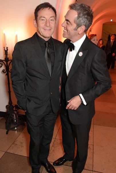 Jason Isaacs and James Nesbitt