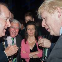 Lord Northbrook, Richard de Pelet, Lady Northbrook and Boris Johnson