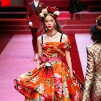D for Dolce & Gabbana, S/S18