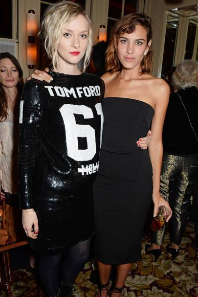 Portia Freeman and Alexa Chung