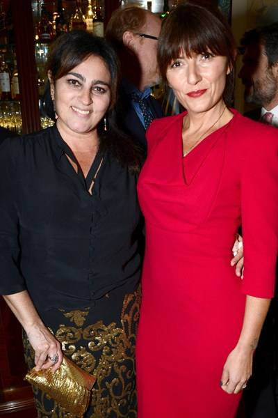Solange Azagury-Partridge and Davina McCall