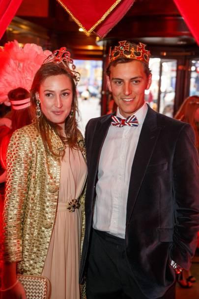 Lady Tatiana Mountbatten and Alex Rose