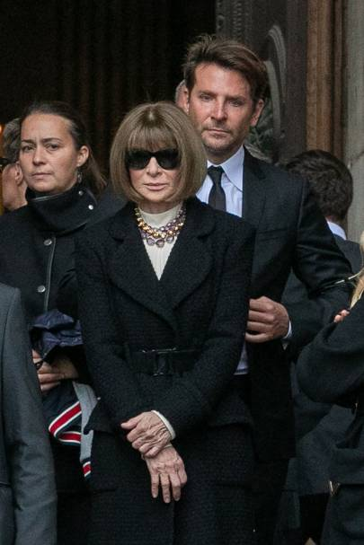 Bradley Cooper and Anna Wintour