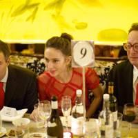 Ben Goldsmith, Jemima Goldsmith and Lord Saatchi