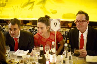 Ben Goldsmith, Jemima Goldsmith and Lord Saatchi