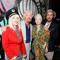 Debbie Harry, Sir Richard Branson, Dame Vivienne Westwood and Andreas Kronthaler