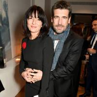 Davina McCall and Matthew Robertson