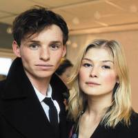 Eddie Redmayne and Rosamund Pike