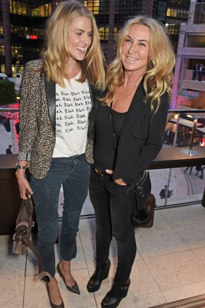 Donna Air and Meg Matthews