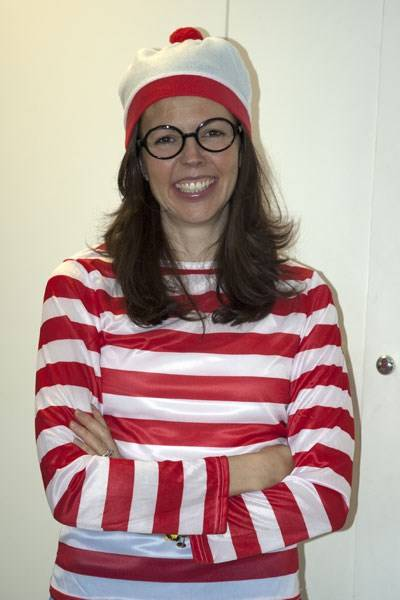 Francisca Kellett as Where's Wally?