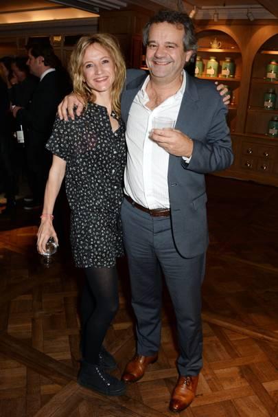 Lara Cazalet and Mark Hix