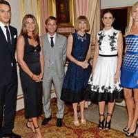 The Earl of Mornington, Natalie Massenet, Mark Dybul, Anna Wintour, Livia Firth and the Countess of Mornington