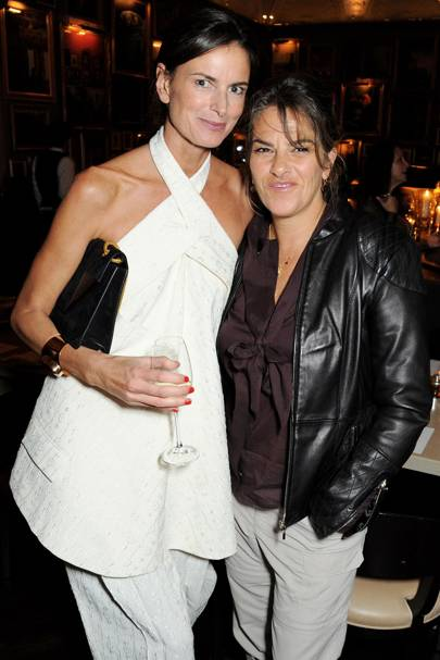 Claudia Donaldson and Tracey Emin