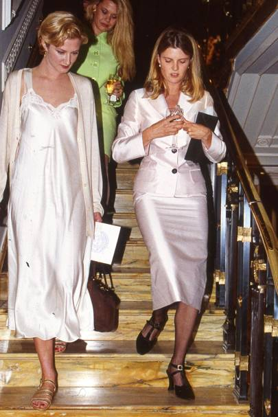 Joely Richardson and Mrs Sten Bertelsen
