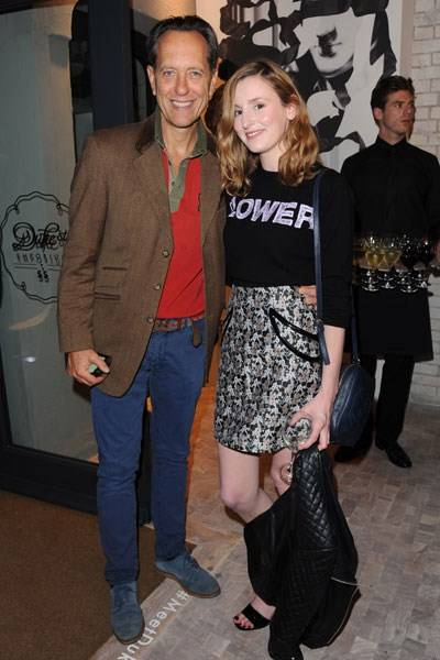 Richard E. Grant and Laura Carmichael