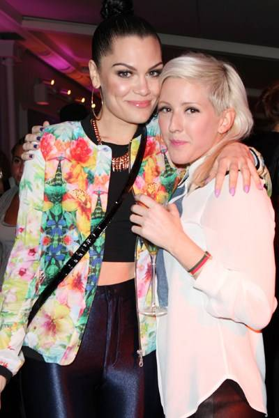 Jessie J and Ellie Goulding