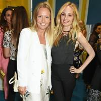 Martha Ward and Lauren Santo Domingo