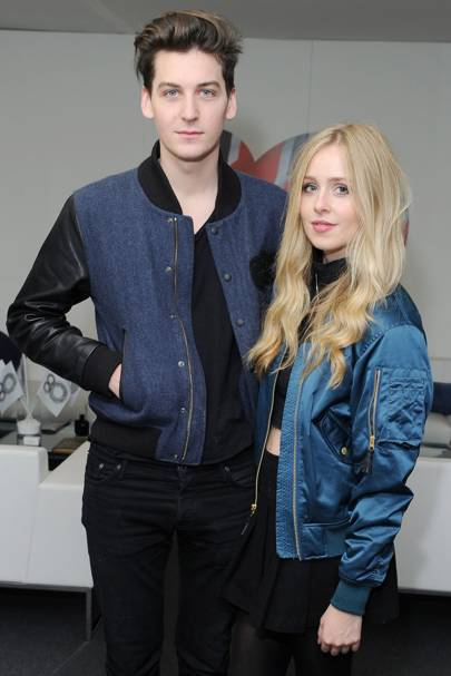George Craig and Diana Vickers