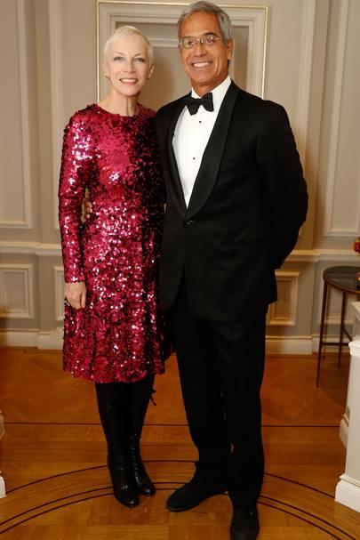 Annie Lennox and Dr Mitch Besser