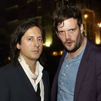 Carl Barat and Jamie Reynolds